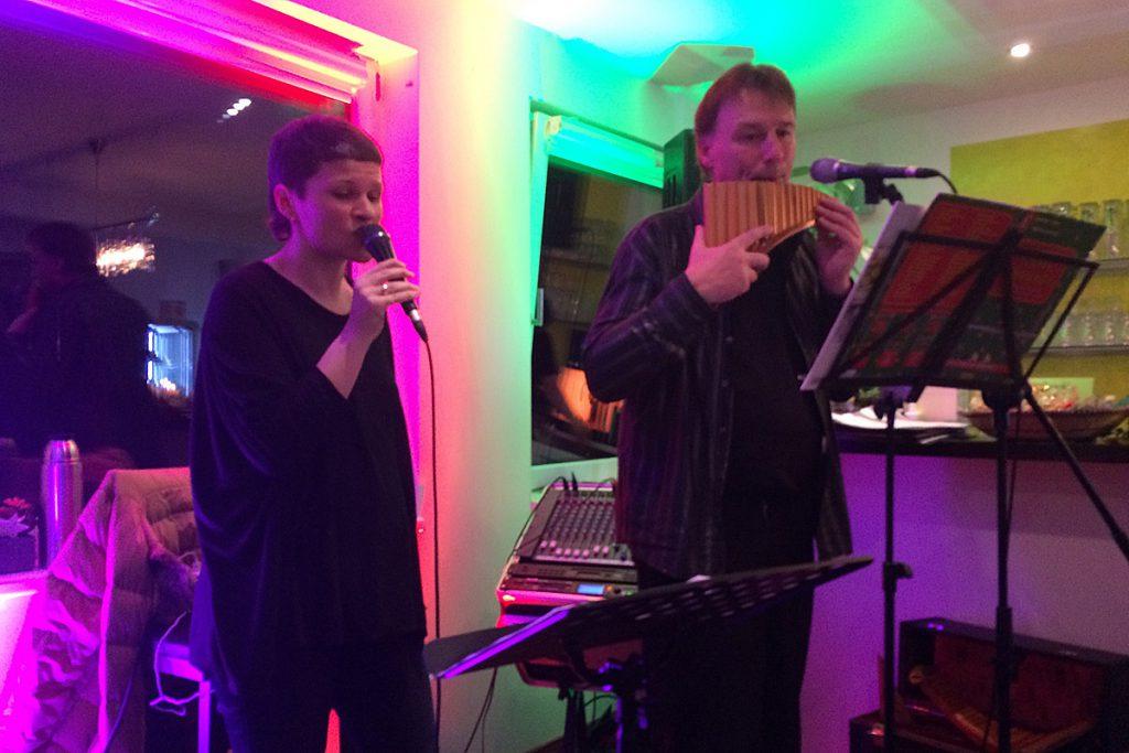Brigitte Thaler und Edmund Butscher – Panflöte trifft Gesang
